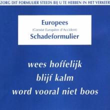 Europees Schadeformulier